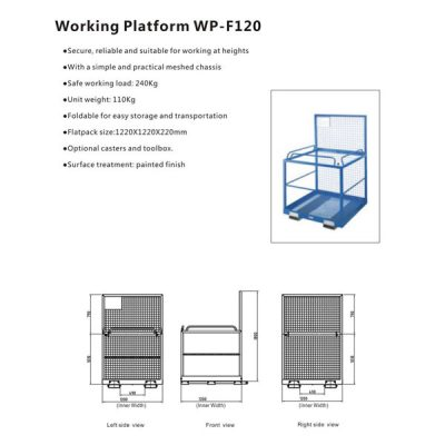 Working Platform WP-F120